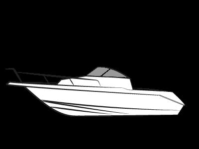 Boottrailers voor motorboot