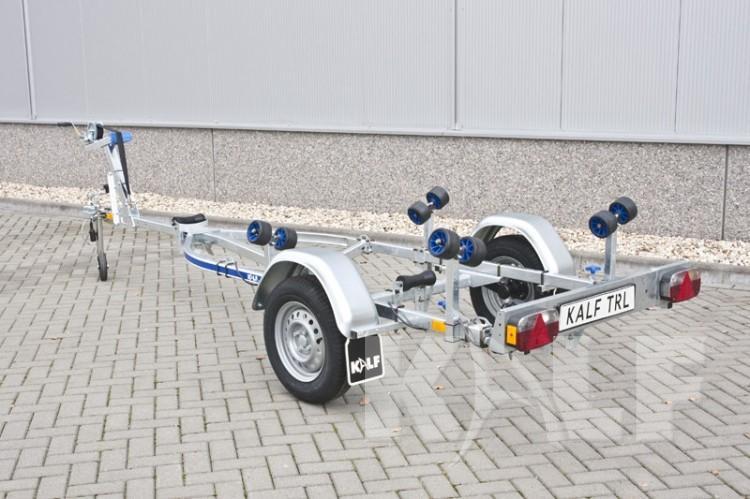 Zeilboot trailer Kalf D 600-45 enkelas ongeremd