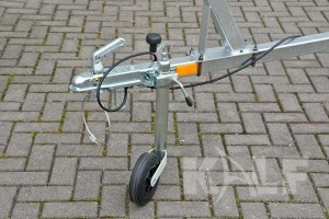 Jetski boottrailer Kalf Basic 550-45 neuswiel