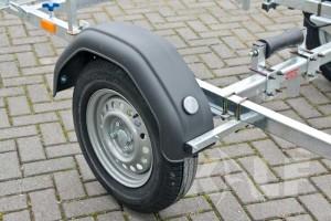 Jetski boottrailer Kalf Basic 550-45 wiel met kunststof spatbord