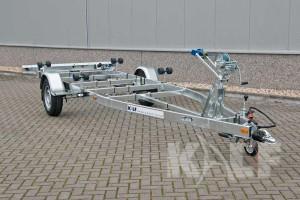 Kielboottrailer Kalf Basic 1500-62 voor aanzicht