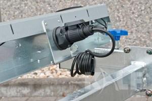 Kielboottrailer Kalf Basic 1800-62 boottrailer aansluiting stekker kabelboom