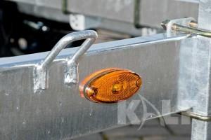 Kielboottrailer Kalf Basic 2000-62 boottrailer geel markeringslicht