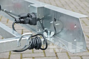 Rubberboot boottrailer Kalf Basic 550-45 lichtbalk