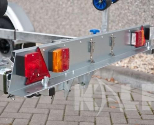 Rubberboot trailer Kalf L 750-55 achterlichten