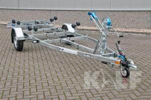 Sloeptrailer Kalf basic 1050-57 boottrailer totaal aanzicht