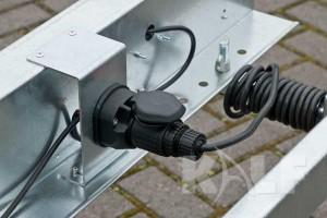 Sloeptrailer Kalf basic 1050-57 boottrailer stekkeraansluiting
