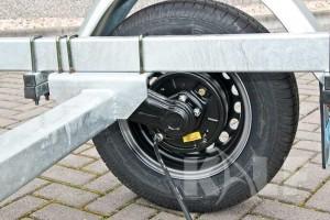 Sloeptrailer Kalf basic 1050-57 boottrailer aspad