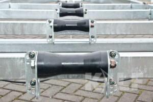 Sloeptrailer Kalf basic 1500-62 boottrailer kielrollen