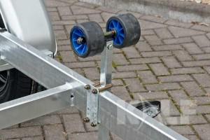Sloeptrailer Kalf basic 1800-62 boottrailer skimrol