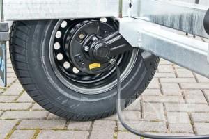 Sloeptrailer Kalf basic 1800-62 boottrailer remtrommel