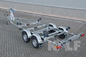 Sloeptrailer Kalf basic 2000-62 boottrailer achterzijde