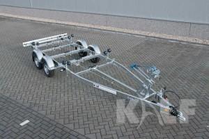 Sloeptrailer Kalf basic 2000-62 boottrailer voorzijde