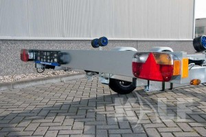 Sloeptrailer Kalf basic 2000-62 boottrailer lichtbalk