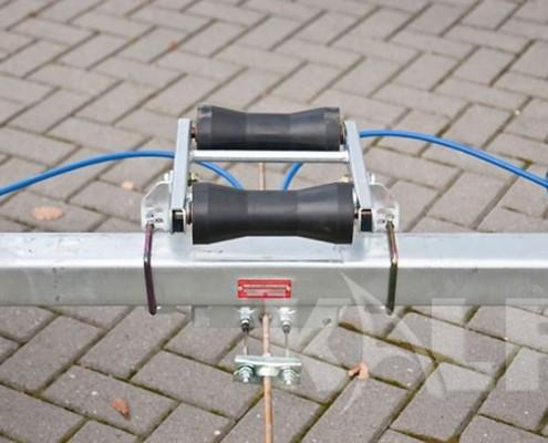 Kalf sloeptrailer M 1500-57 kielrollen op frame