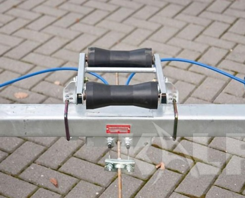 Kalf sloeptrailer M 1800-57 dubbele kielrol