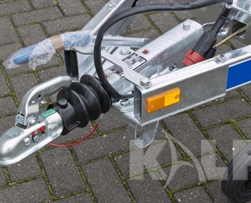 Kalf sloeptrailer R 1100-57 dissel met stekker en handrem