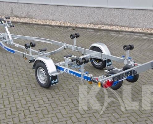 Kalf sloeptrailer R 1300-52 achterzijde laadvermogen 980 kg