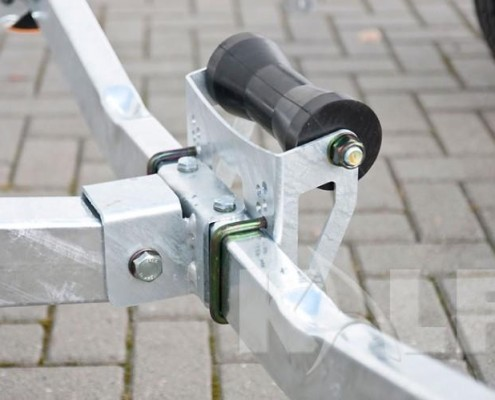 Kalf sloeptrailer R 750-57 kielrol