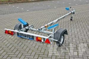 Rubberboottrailer Kalf Basic 450-40 400x160cm voor rubberboot