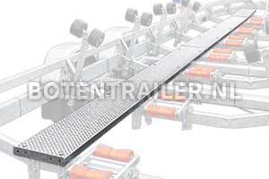 Optionele loopplank voor Kalf boottrailer